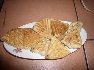 Quick waffle recipe