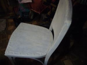 Wood chair restoration