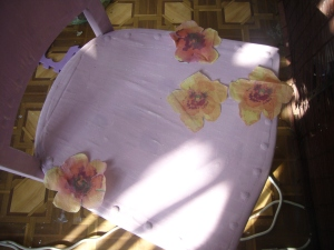 old chair decoupage