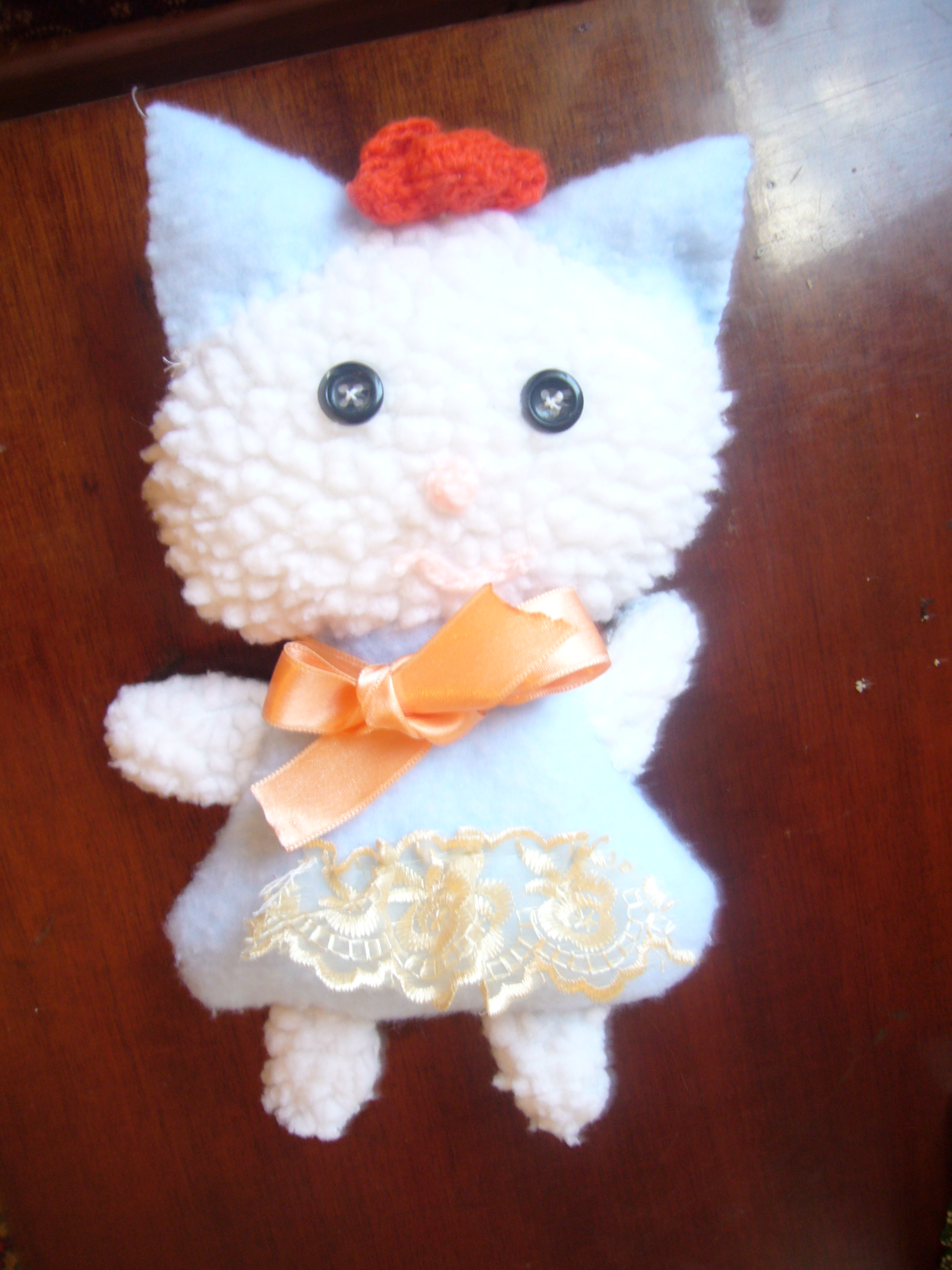 Soft Baby Toys : Soft baby toy making hello kitty diy crafts decoupage