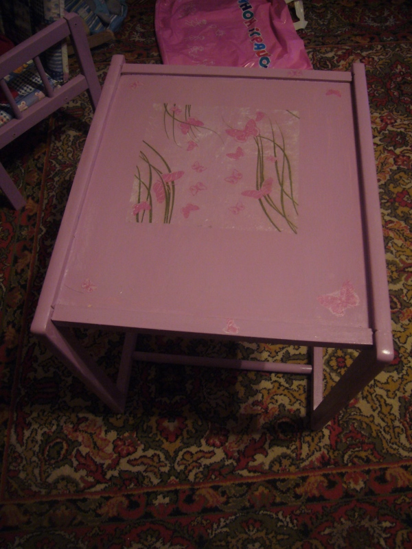 recycle ideas crafts kid s table decoupage diy crafts decoupage ideas 2816