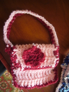 baby bag crocheting