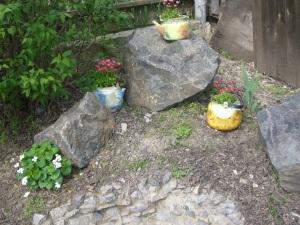 decoupage and gardening