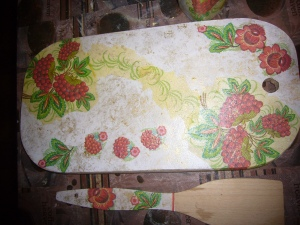 wood decoupage