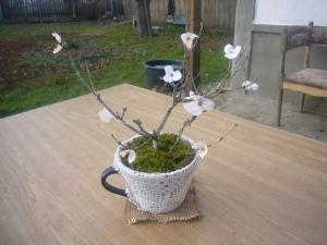 handmade DIY bonsai tree