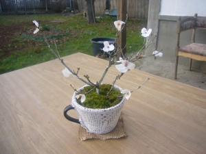 handmade DIY bonsai tree