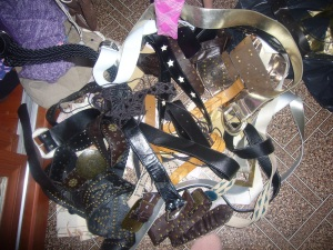 flea market belt shopping
