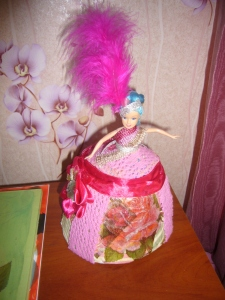 paper mache projects: doll box