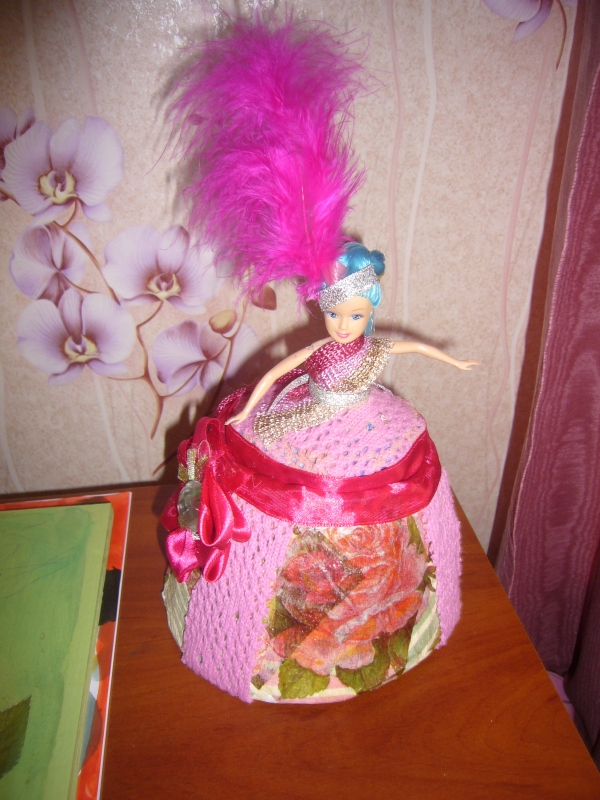 etsy shop paper mache projects: doll box