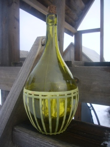 vintage wine bottle