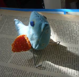 blue bird craft project