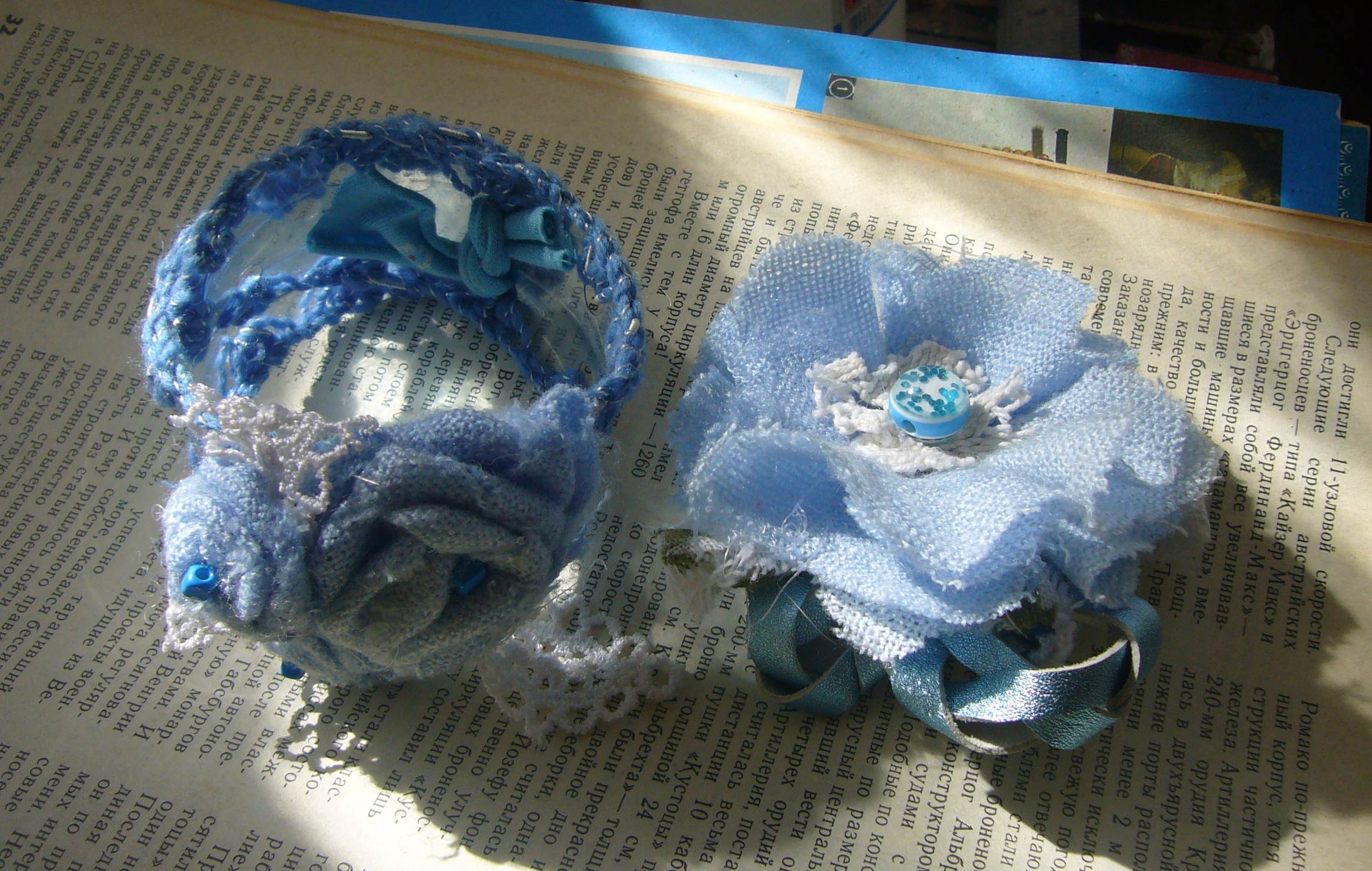 Plastic bottle crafts and fabric flower jewelry diy for Craft plastic