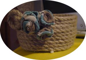 storage rope basket