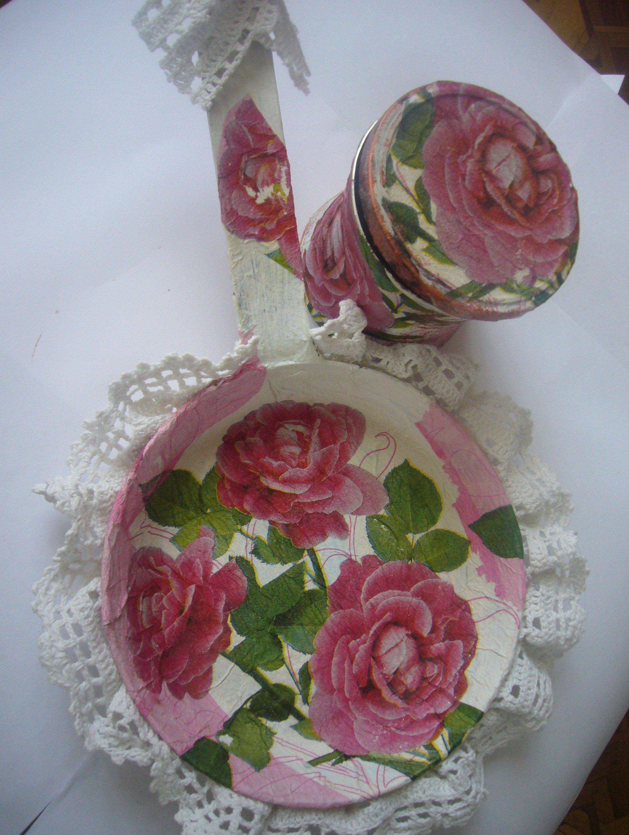 Decoupage ideas: pretty handmade spring gifts for women ...