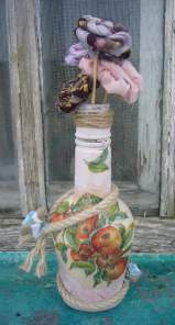 decoupage on glass tutorial