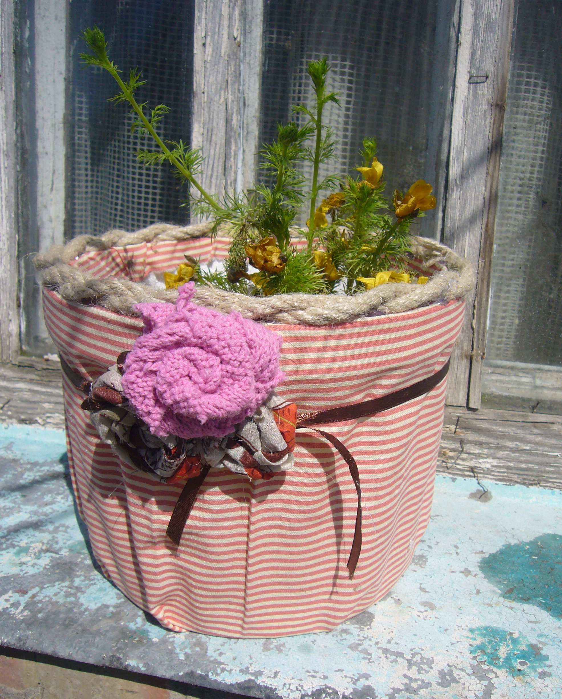 Diy Recycled Planters: DIY Crafts, Decoupage Ideas, Recycled Crafts