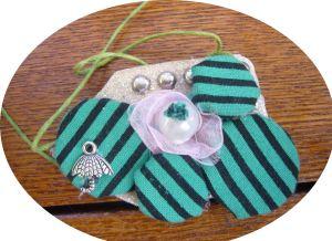fabric jewelry set`