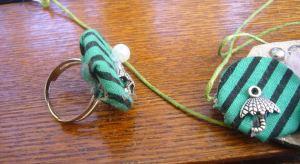 fabric jewelry set
