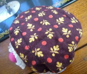 Tilda style fabric basket
