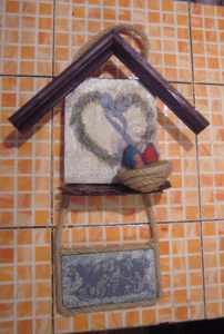 Easter door decor DIY