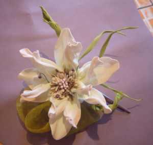foramiran flowers handmade flowers